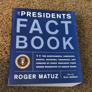 Presidents' Fact Book.